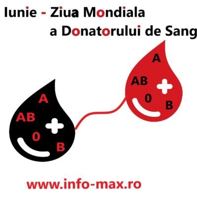 14 Iunie - Ziua Mondiala a Donatorului de Sange
