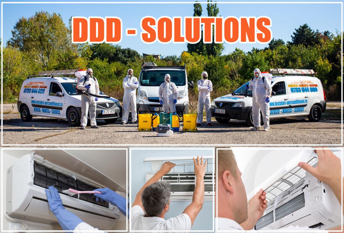 Servicii ddd si instalatii de climatizare