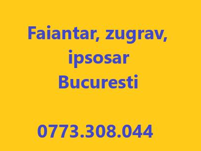 Faianțar zugrav ipsosar 0773308044
