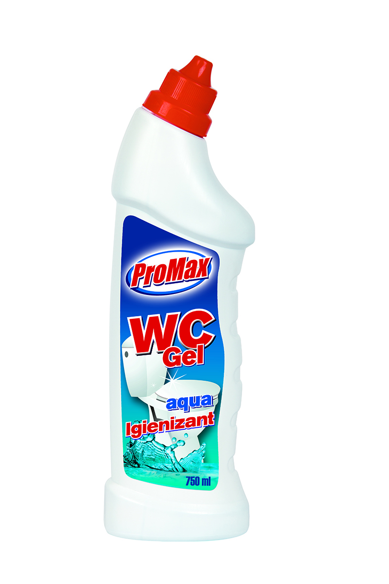 Gel igienizant pentru wc parfum marin 750 ml