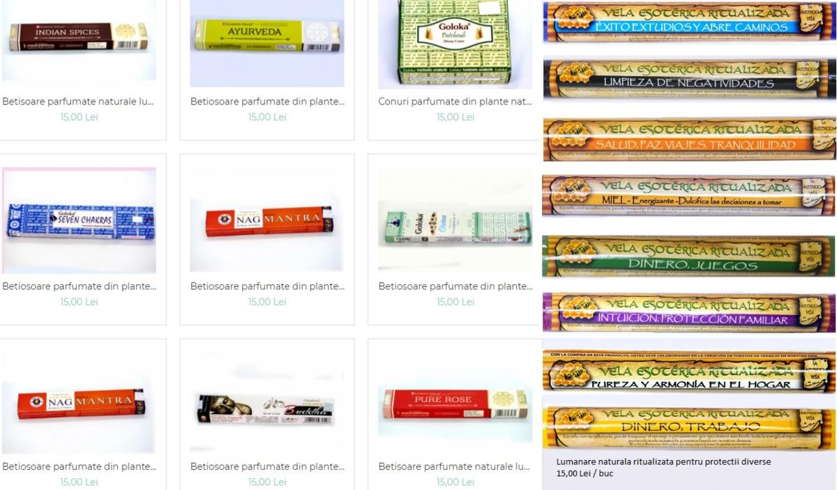 Betisoare parfumate naturale - india