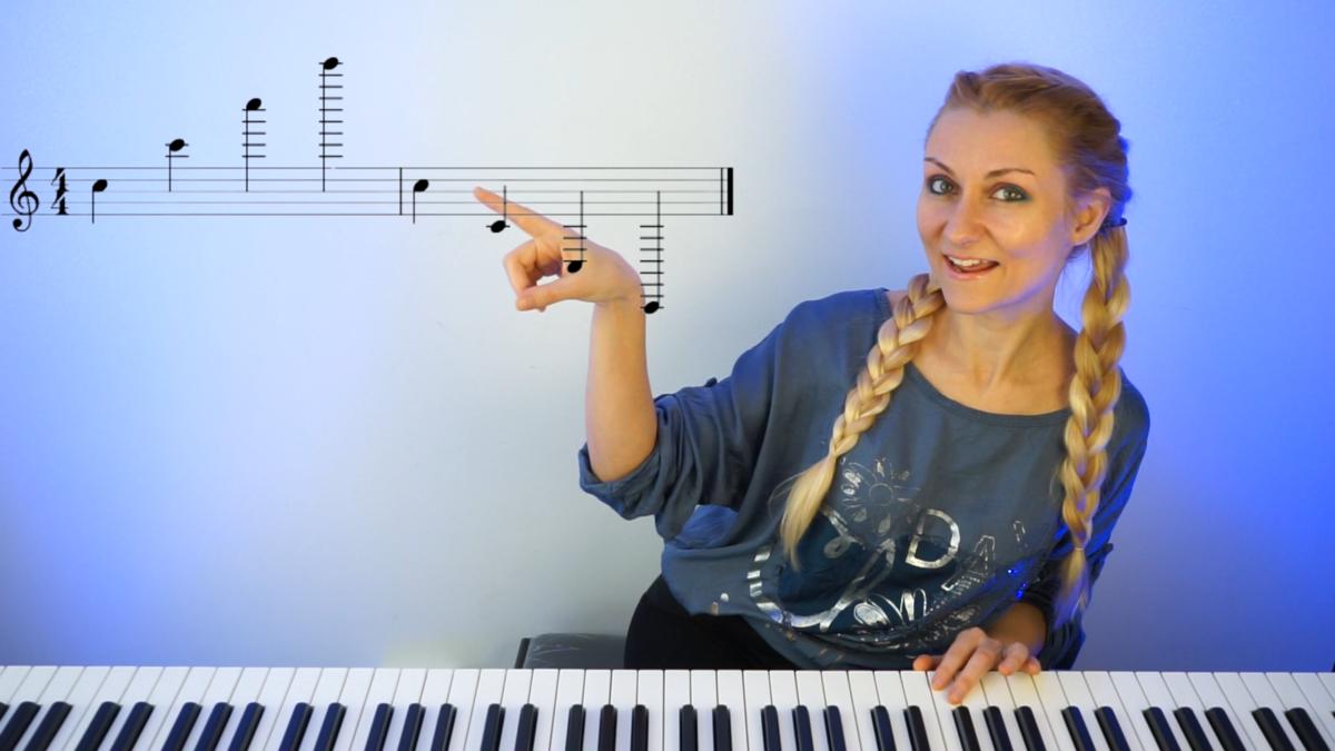 Meditatii de pian - bucuresti sau online - copii