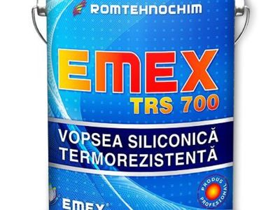 Vopsea termorezistenta siliconica emex trs 700