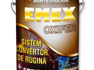 Sistemul anticoroziv convertor de rugina  emex oxi