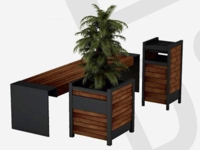 Jardiniera flori/jardiniera arbusti/mobilier urban