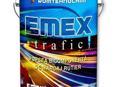 Vopsea marcaj rutier emex trafic