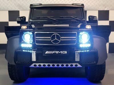 Masinuta electrica mercedes g63 6x6 premium negru