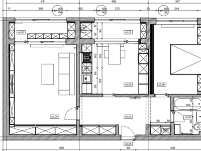 Proprietar - inchiriez apartament de 2 cam, lux