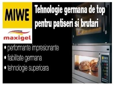 Miwe tehnologie germana patiserii/brutari/maxigel