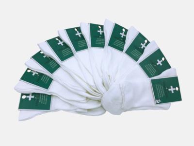 Sosete medicinale 100% bumbac ciserom 35-37 alb