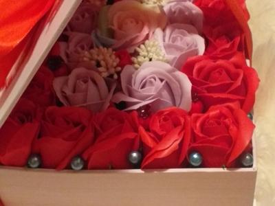 Aranjamente flori de sapun