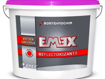 Vopsea lavabila reflectorizanta emex - necesita pe