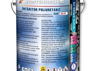Intaritor poliuretanic nesolventat emex 2k - pa