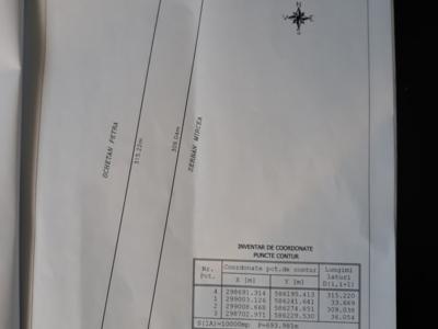 Proprietar vand teren extravilan comuna calugareni