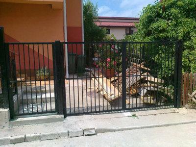 Garduri si porti metalice bucuresti - confectii