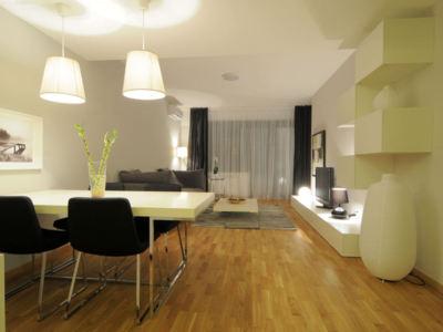 Inchiriere apart. 4 camere modern mobilat baneasa