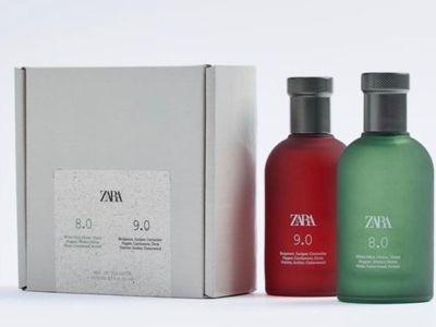Vand 20 sticlute goale de parfum 100 ml de la zara