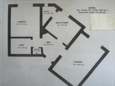 Ofer spre închiriere ap.2 camere