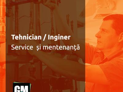 Căutăm tehnician/inginer - service mentenanță hvac