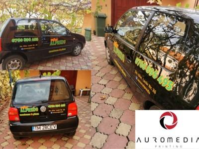 Stickere auto personalizate / autocolante auto