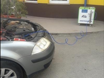 Curatarea motorului cu hidrogen