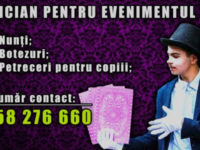 Magician pentru evenimente!