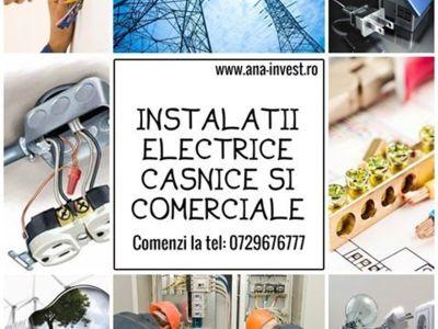 Montare si reparare - instalatii electrice