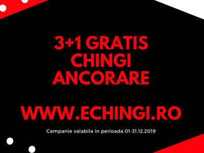 Super oferta 3+1 gratis : chingi de ancorare total
