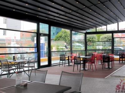 Sisteme de sticla electrica pentru terase