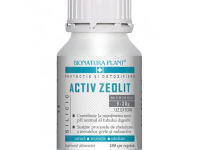 Activ zeolit silicic 180 capsule