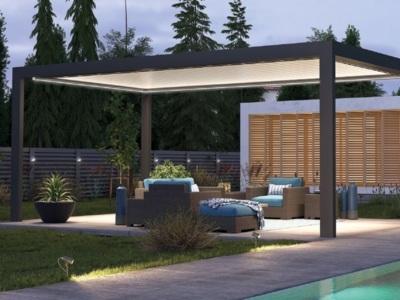 Pergola bioclimatica independenta pentru terasa