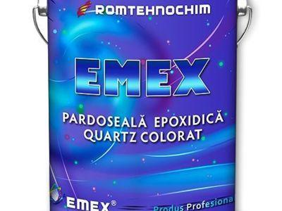 Pardoseala epoxidica decorativa cu cuartz colorat