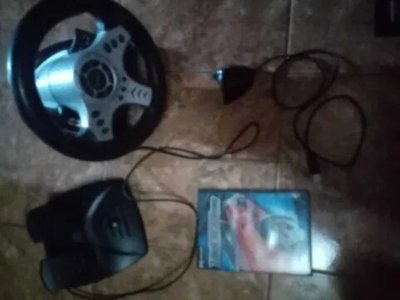 Volan cu pedale infinimax + joc  need for speed