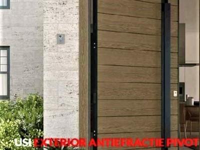 Usi securizate/antiefractie exterior/antifoc