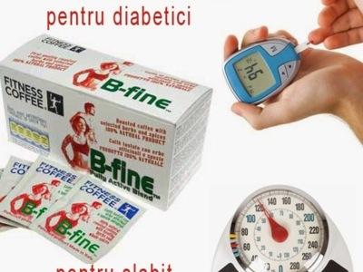 Fitness coffee b-fine,cafea pentru diabetici.