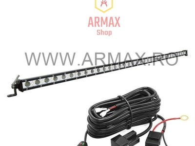 Set proiector led bar super slim 100cm 180w 12-24v