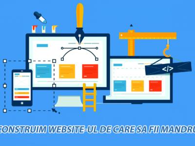 Creare site web, web design, editare fotografii, s