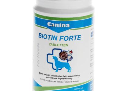 Supliment pentru blana caini biotin forte canina