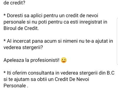Stergere birou credit