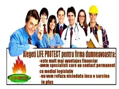 Life protect, ptr.locuri munca sigure si sanatoase