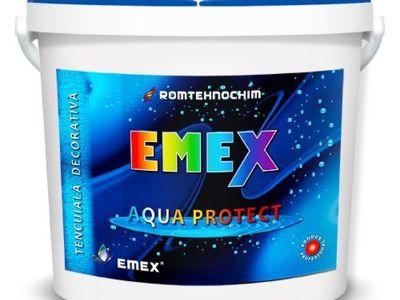 Tencuiala decorativa impermeabila emex aqua protec