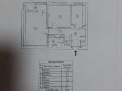 Particular,vand apartament 2 camere cf1 decomandat