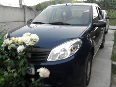 Dacia sandero 1,4mpi 2008, fabricatie franta