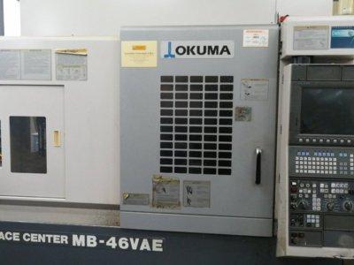 Centru de prelucrare vertical okuma mb-46 vae
