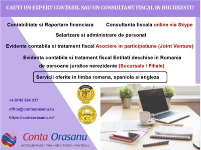 Cauți un expert contabil sau un consultant fiscal