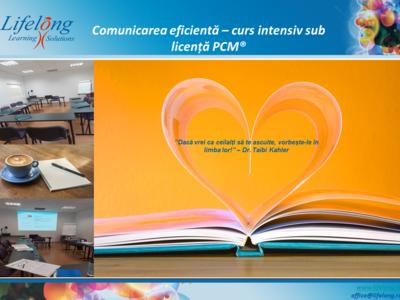 Comunicarea eficientă – seminar sub licență pcm®