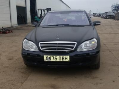 Mercedes s class w220 din 2001 5.0 b