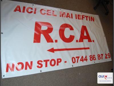 Print bannere publicitare / bannere tiparite