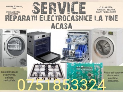 Reparatii electrocasnice cluj