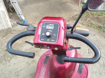 Electro scutter pentru persoane cu probleme de dep